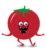 Dancing tomato Stock Images