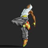 Dancing Trendy Guy Stock Image