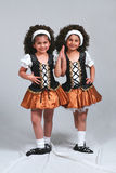 Dancing Twins Stock Photography