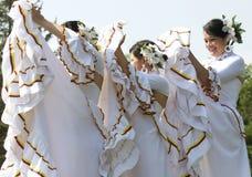 Dancing Uruguian  girls Royalty Free Stock Image