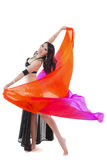 Dancing with veil Royalty Free Stock Photo