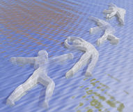 Dancing Waters Stock Photography