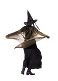 Dancing witch Royalty Free Stock Images