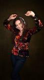 Dancing woman Royalty Free Stock Photos