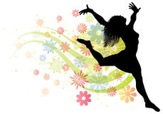Free Dancing Woman Royalty Free Stock Photos - 19864938