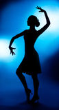 Dancing woman Royalty Free Stock Photo