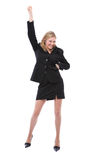 Dancing woman Stock Photos