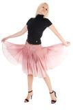 Dancing Woman Royalty Free Stock Photo