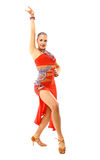 Dancing woman beautiful, Royalty Free Stock Photos