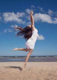Dancing woman Royalty Free Stock Photography