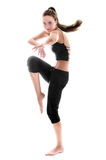 Dancing woman | Isolated Royalty Free Stock Photo