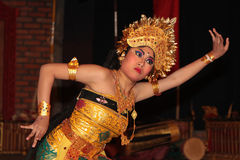 Dancing woman in Sebatu, Bali Stock Photography