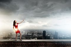 Dancing woman Stock Image