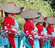 dancing women 库存照片