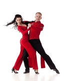 Dancing young couple. Stock Image