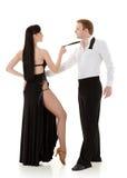Dancing young couple. Stock Photo