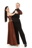 Dancing young couple. Stock Photography