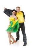Dancing young couple. Stock Photos