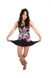 Dancing young woman. Stock Photography