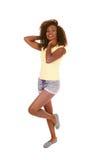 Dancing young woman. Stock Image