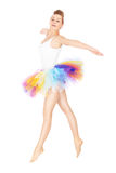 Dancingowa balerina Obrazy Stock