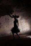 dancingowa dziewczyna Zdjęcia Royalty Free