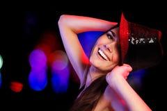 dancingowa dziewczyna Obraz Royalty Free