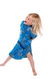 dancingowa dziewczyna zdjęcie stock