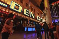 Dancingowa Dziewczyna Las Vegas Zdjęcia Stock