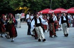 Dancingowa grupa Saloniki Obraz Royalty Free