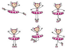 Dancingowa kij kobieta Obraz Stock
