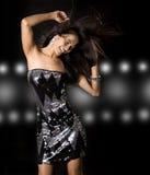 dancingowa kobieta Zdjęcia Stock