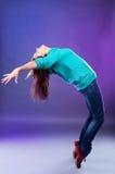 dancingowa kobieta Zdjęcie Stock