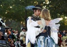 Dancingowa Para Obrazy Royalty Free