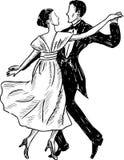 Dancingowa para Zdjęcie Royalty Free