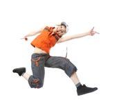 dancingowa przerwy dziewczyna Fotografia Stock