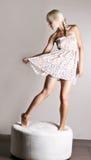 dancingowa suknia Obrazy Stock