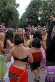 dancingowa ulica Zdjęcie Stock