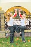 dancingowe dziewczyny Zdjęcia Stock