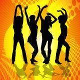 Dancingowe Kobiety Fotografia Royalty Free