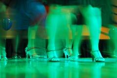dancingowe partyjne kobiety Zdjęcie Stock