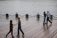 Dancingowe pary Zdjęcie Royalty Free