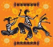 dancingowe postacie Fotografia Stock