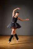 dancingowi balerin potomstwa Obrazy Stock