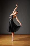 dancingowi balerin potomstwa Zdjęcia Royalty Free