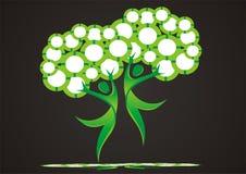 dancingowi drzewa Zdjęcie Stock