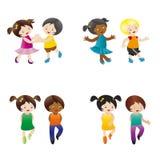 dancingowi dzieciaki Zdjęcie Royalty Free