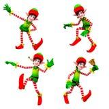 Dancingowi elfy Fotografia Stock