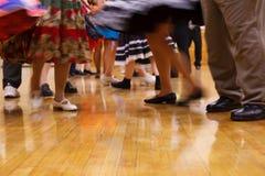 dancingowi ludzie Zdjęcie Stock
