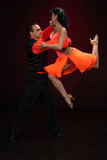 dancingowi par potomstwa Zdjęcie Stock